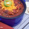 EZ Black Bean Turkey Chili