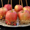 Caramel Apples with Toppings