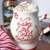 The Best Homemade Hot Chocolate with Vanilla Sugar Cookie Whipped Cream